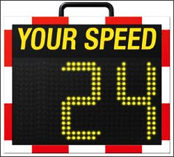 Via Traffic Controlling speed